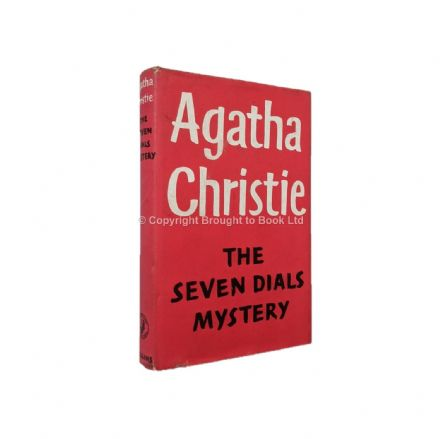 The Seven Dials Mystery by Agatha Christie Reprint The Crime Club Collins 1980
